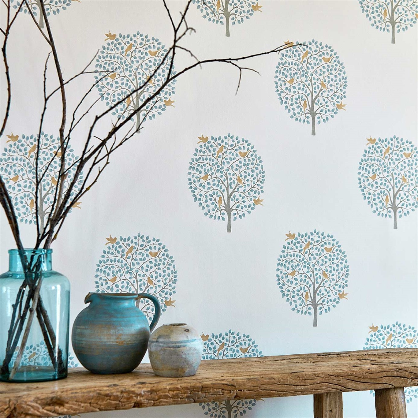 Bay tree sanderson papeles pintados - Papeles pintados sanderson ...